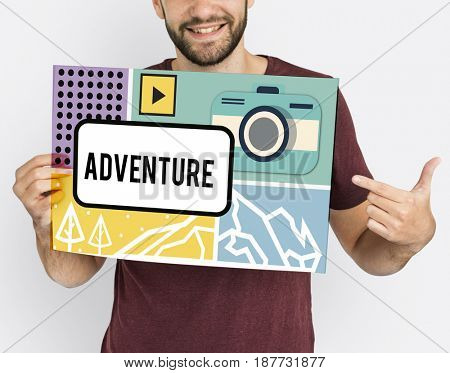 Adventure Trip Tour Discovery Concept