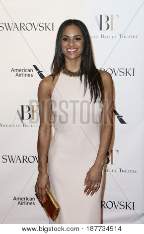 NEW YORK-MAY 22: Misty Copeland attends the American Ballet Theatre 2017 Spring Gala at David H. Koch Theater at Lincoln Center on May 22, 2017 in New York City.