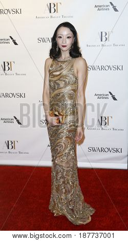 NEW YORK-MAY 22: Zhong-Jing Fang attends the American Ballet Theatre 2017 Spring Gala at David H. Koch Theater at Lincoln Center on May 22, 2017 in New York City.