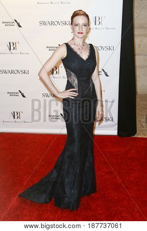 NEW YORK-MAY 22: Gillian Murphy attends the American Ballet Theatre 2017 Spring Gala at David H. Koch Theater at Lincoln Center on May 22, 2017 in New York City.