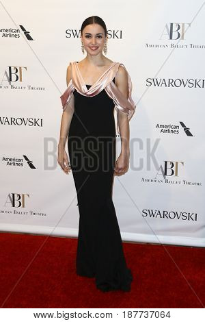 NEW YORK-MAY 22: Betsy McBride attends the American Ballet Theatre 2017 Spring Gala at David H. Koch Theater at Lincoln Center on May 22, 2017 in New York City.