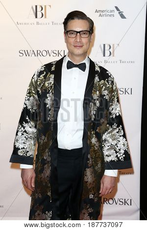 NEW YORK-MAY 22: Cameron Silver attends the American Ballet Theatre 2017 Spring Gala at David H. Koch Theater at Lincoln Center on May 22, 2017 in New York City.