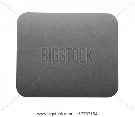 Modern mouse pad on white background