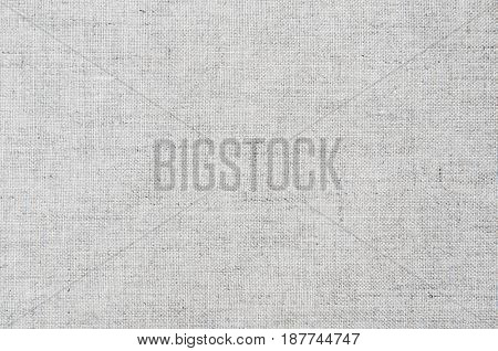 Close up grey woven woolen rug fabric pattern texture background.