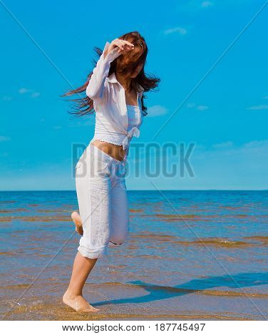 Beach Model Innocence