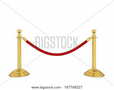 Golden Stanchions