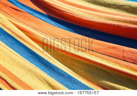 Colorful Striped Textile, Abstract Background