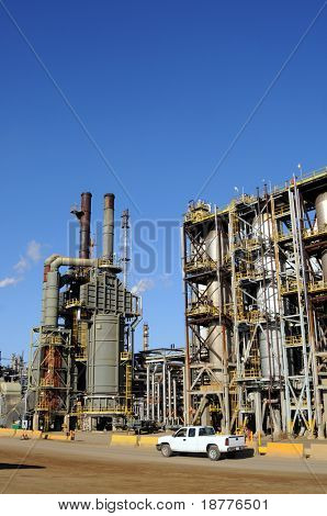 Modern petrochemical plant