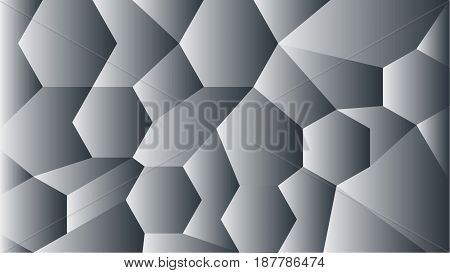 Origami geometric vector abstract background. Polygonal Background, Creative Design Templates- stock vector