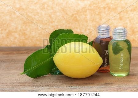Soap and shampoo are made from lemon.