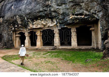 Ellora cave Aurangabad Maharashtra India Indian Sub-Continent Asia