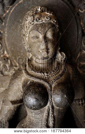 Stone carving Ellora cave Aurangabad Maharashtra India Indian Sub-Continent Asia