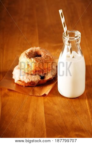 Donuts And Milk