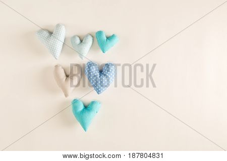 Handmade Heart Cushions