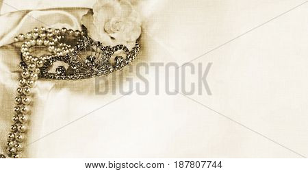 Longer horizontal size wedding princess empty background copyspace