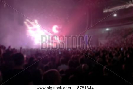 blurred concert background light show entertainment event