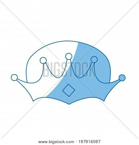wise man crown christmas ornament design vector illustration