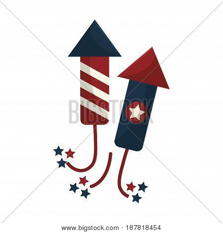 cute fireworks to celebrate special days, vector illustration