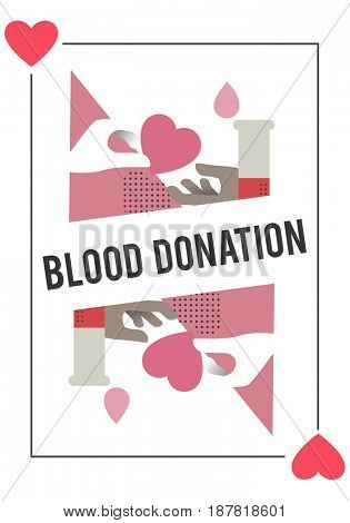 Blood Donation Save Life Concept