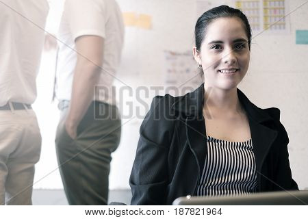 Portrait Of Businesswoman In The Office