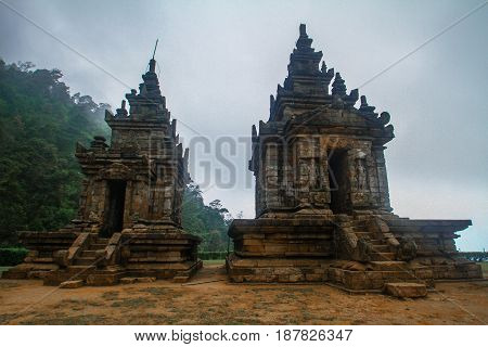 Gedong songo temple is one of hinduism temple held at Central Java Indonesia