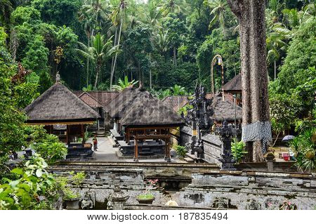 Elephant Temple In Bali, Indonesia
