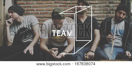 Friendship Team Togetherness Partnership Word Graphic
