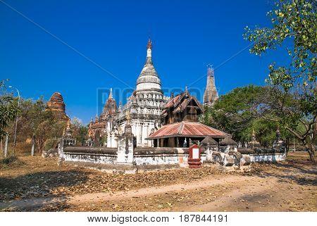 Ancient temple in Bagan, Myanmar. (Burma)