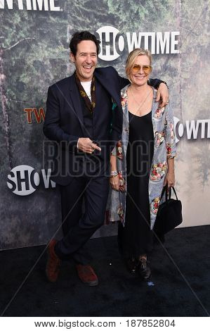 LOS ANGELES - MAY 19:  Rob Morrow and Debbon Ayer arrives for the premiere of