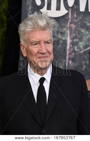 LOS ANGELES - MAY 19:  David Lynch arrives for the premiere of