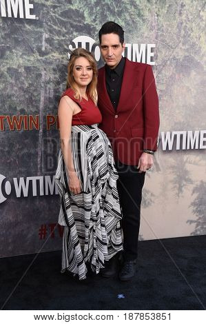 LOS ANGELES - MAY 19:  David Dastmalchian and Eve Dastmalchian arrives for the premiere of