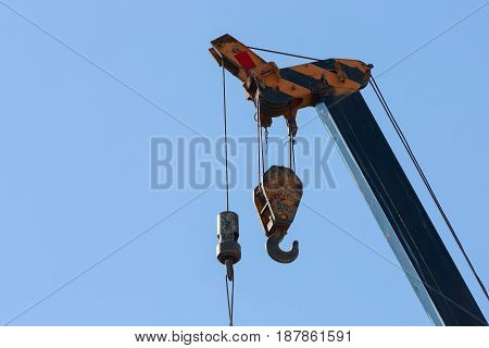 Hook Of Machinery Crane Construction