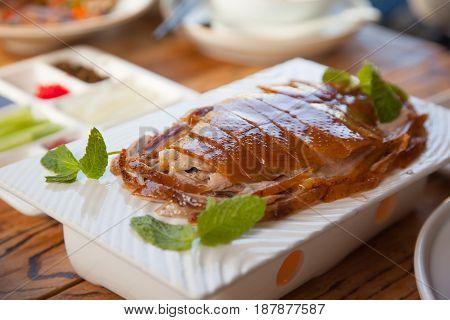 Traditional Roast Beijing Duck