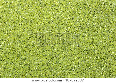 Surface of green sandpaper for design your work Texture background.