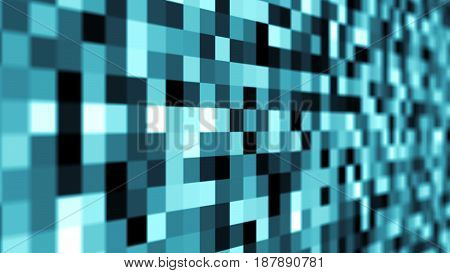 Abstract background with mosaic. Digital 3d rendering