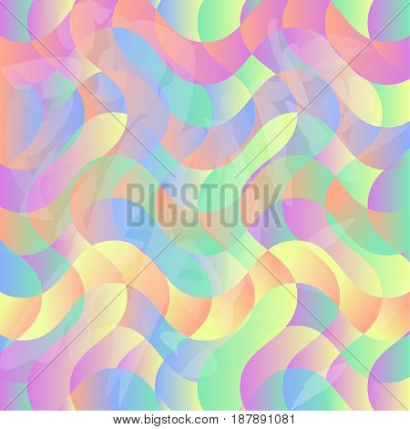 Pastel Texture Abstract Background Designed as Bright and Colorful Tone