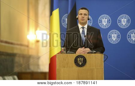 Estonian Prime Minister Juri Ratas