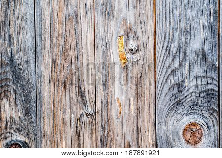 Old Black Wooden Textured Wall Background
