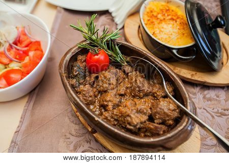 Restaurant Served Food