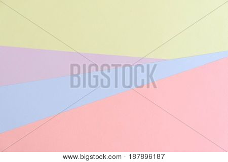 blue and pink pastel color paper texture background. Abstract geometric paper background. trend colors. Colorful of soft paper background. abstract glamour design.