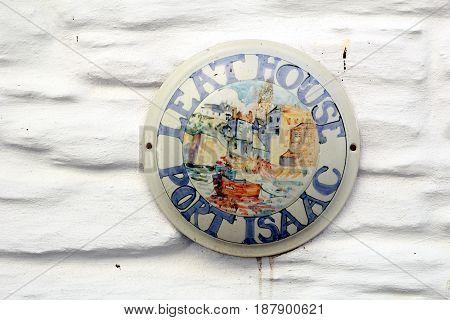 House name plate saying