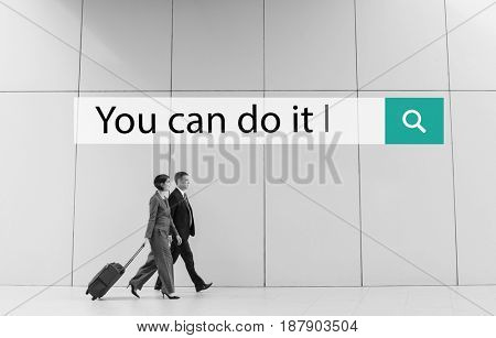 You Can Do It Quote Aspiration Optimistic