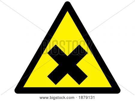 Harmful Irritant Sign