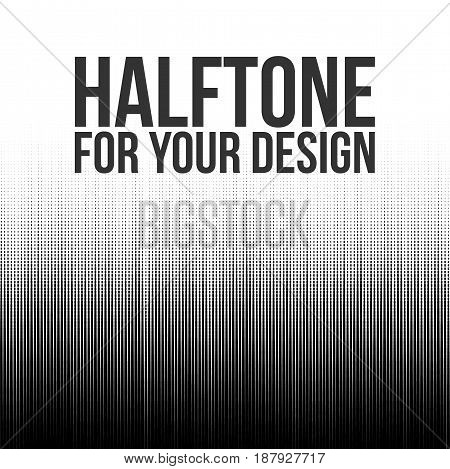 Halftone Lines abstract vector Background for Your Design
