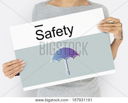 Warranty Security Safety Protection Guard Guarantee Umbrella Icons Symbol