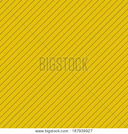 Golden abstract seamless 3D diagonal stripe pattern background