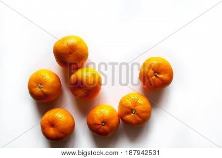 Mandarin isolated on white background a Mandarin isolated  Mandarin isolated