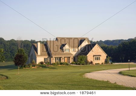 Large Country Home