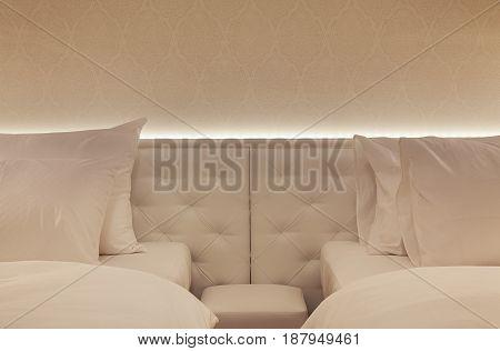 Hotel Room Interior