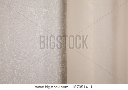 Curtain And Wallpapers